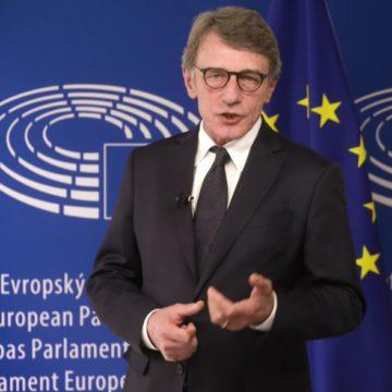 """Sassoli:""""Larghissima maggioranza in Parlamento per un pacchetto di 2mila miliardi"""""""