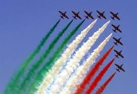 2 Giugno: continua il Giro d'Italia delle frecce tricolori. Oggi Catanzaro, Bari, Potenza, Campobasso e Napoli