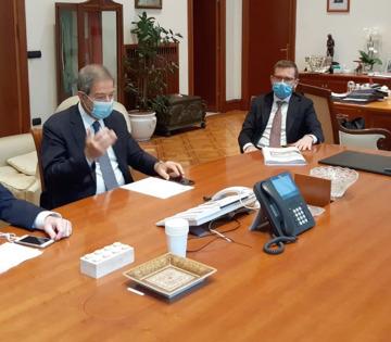 Trasporto e viabilità al centro dell'incontro di oggi fra il presidente Musumeci e i ministri De Micheli e Provenzano