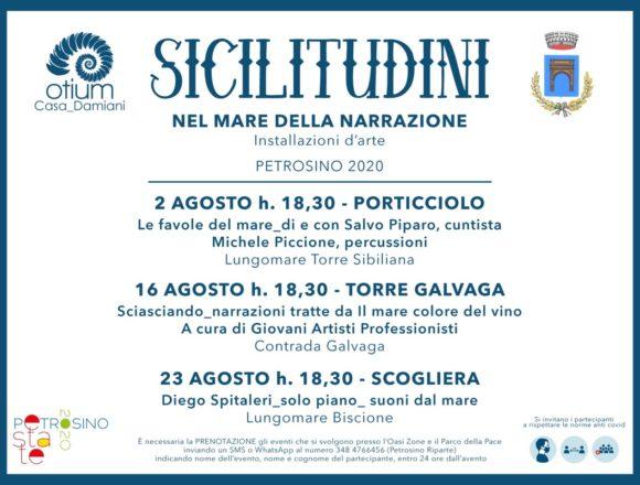 """Petrosino Estate 2020, torna l'appuntamento con """"Sicilitudini"""". Tre le iniziative in calendario il 2, 16 e 23 agosto"""