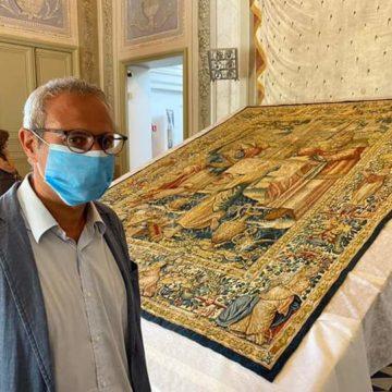 Finalmente si restaurano i preziosi Arazzi Fiamminghi di Marsala. Questa raccolta di rilevante pregio è la più importante in Italia