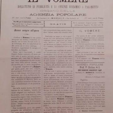 Oggi Il Vomere, giornale di primati, festeggia il suo 124° compleanno. Con l'entusiasmo di sempre.
