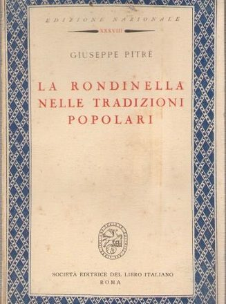 Giuseppe Pitrè e la rondinella nelle tradizioni popolari