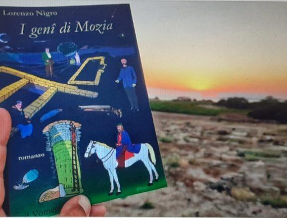 """Presentato ieri in anteprima a Mozia, nel cuore della Laguna di Marsala, il nuovo libro di Lorenzo Nigro:""""I geni di Mozia"""" edito dal Vomere"""
