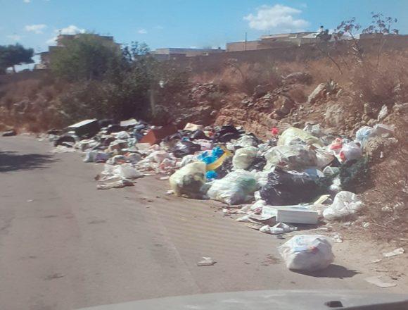 I lettori ci segnalano…la sporcizia in contrada Cardilla a Marsala
