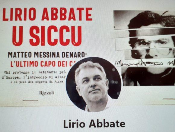 """Lirio Abbate presenta il suo libro:""""U siccu"""" questa sera alle ore 21 a Segesta. """"Racconto Matteo Messina Denaro, il boss di Cosa Nostra, l'ultimo capo dei capi, un sanguinario violento, un imprenditore invisibile"""""""