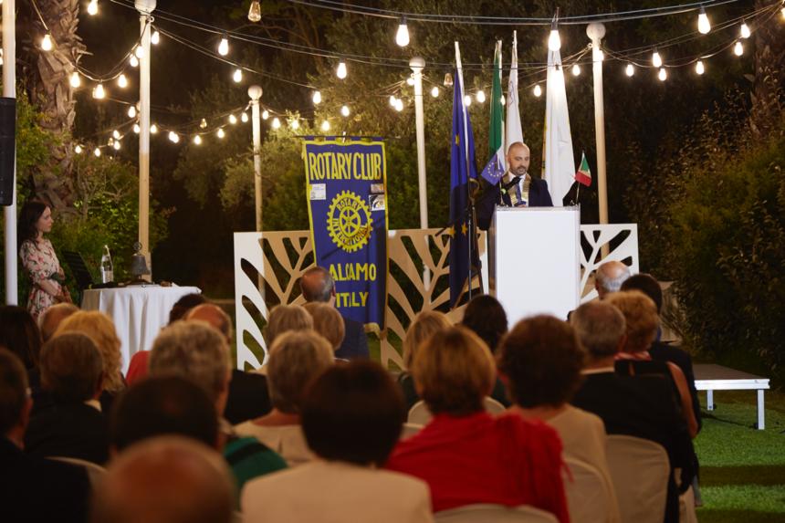 Il Rotary Club Alcamo compie 45 anni. Lettera di Auguri del Presidente Coppola
