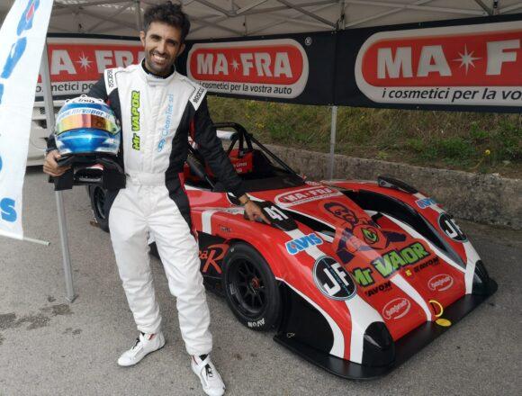 62^ Monterice, ottimo ritorno in gara per il pilota marsalese Giuseppe Giacalone