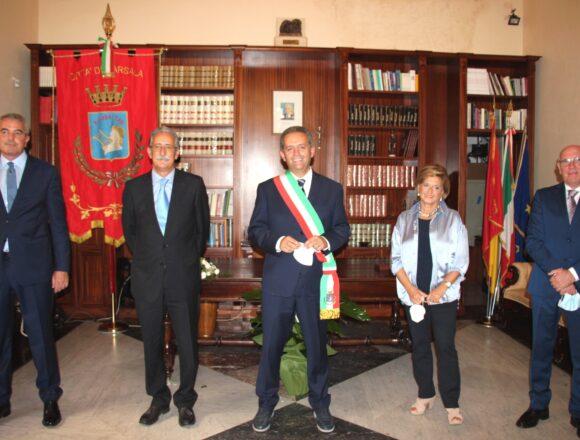 Marsala, nuova giunta municipale. Il sindaco Massimo Grillo assegna le deleghe agli assessori in carica