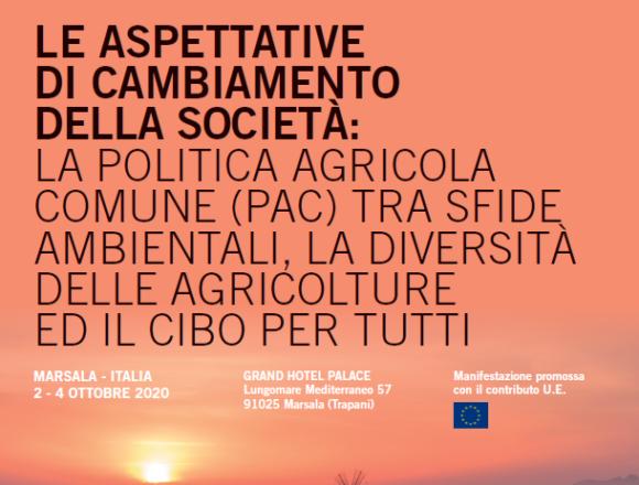 Agricoltura e sfide ambientali. A Marsala il seminario internazionale