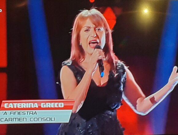 """Un successo l'esibizione della trapanese Caterina Greco a """"The Voice Senior"""" questa sera su Rai1"""