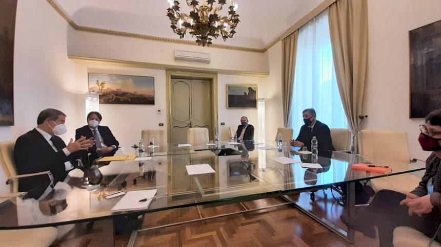 Turismo: Musumeci e Messina incontrano vertici compagnia aerea Ego Airways