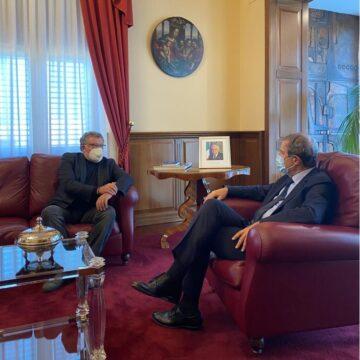 Isole minori: Musumeci riceve sindaco di Favignana