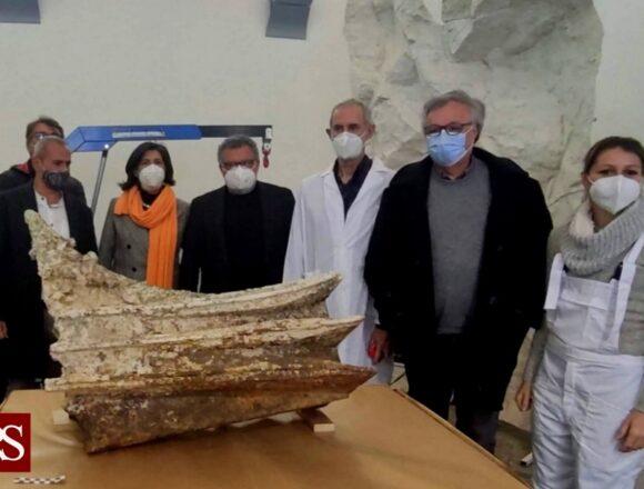 Egadi: iniziato il restauro dell'ultimo rostro individuato da Tusa
