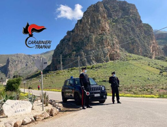Alcamo. 24enne denunciata dai Carabinieri: aveva provocato un incidente sotto l'effetto di alcol e droga