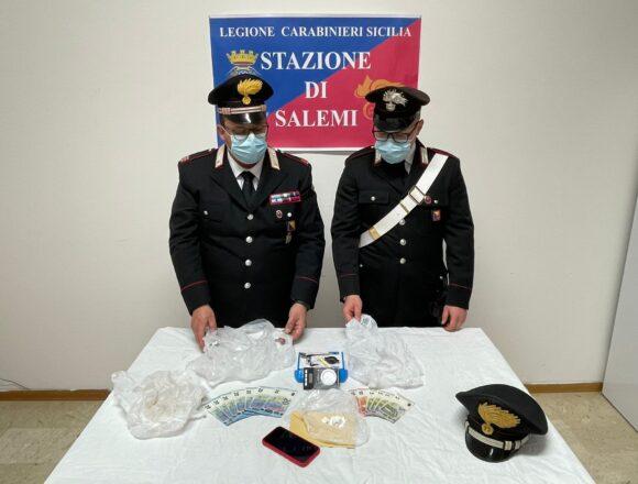 Salemi: arrestato dai Carabinieri corriere della droga