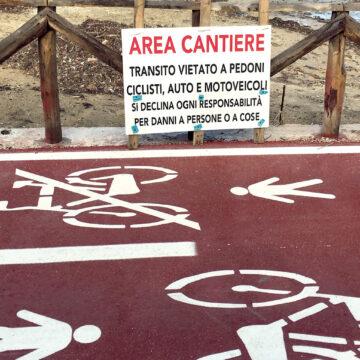 Tutti i dubbi sulla pista ciclopedonale dello Stagnone
