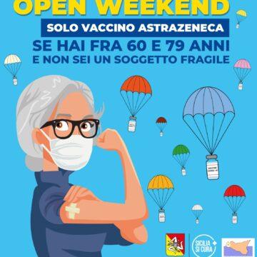 Open weekend vaccinazioni, ti aspettiamo