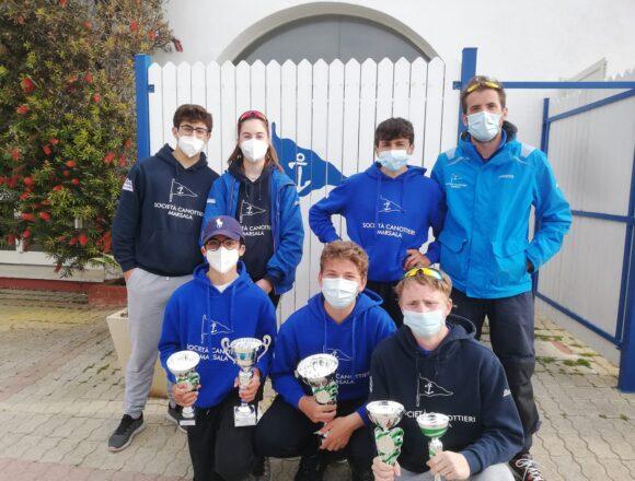 A Marsala la quarta tappa del Campionato Zonale Laser organizzata dalla Società Canottieri