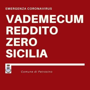 """""""Reddito Zero Sicilia"""", a Petrosino pubblicato il nuovo avviso per i buoni spesa"""