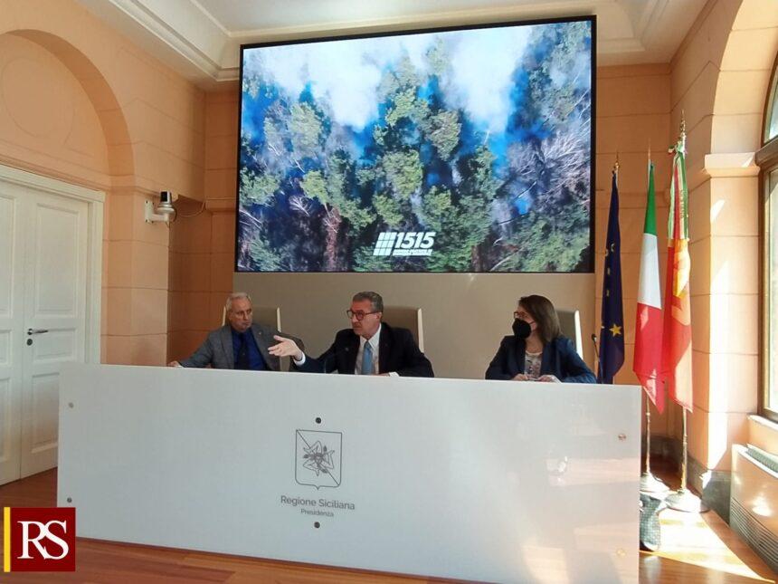 Ambiente, in Sicilia la campagna antincendio si fa anche coi droni. Cordaro: «Invito i siciliani a utilizzare il 1515»