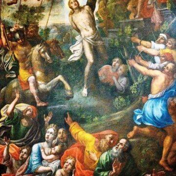 """Palazzolo Acreide, si presenta il dipinto: """"Martirio di S. Sebastiano"""""""