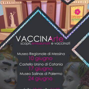 """""""VACCINArte"""", la salute incontra la cultura. Tre musei siciliani """"hub"""" per una notte"""