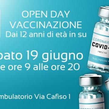 Campagna vaccinale, sabato 19 giugno a Petrosino torna l'open day