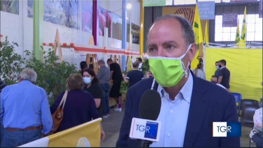 """A Marsala il primo hub vaccinale al mercato """"Campagna Amica"""" di Coldiretti. Antonio Rallo:"""" Massima la collaborazione dell'Asp Trapani che ha lavorato veramente bene. Grazie ai medici e alla Croce Rossa"""""""