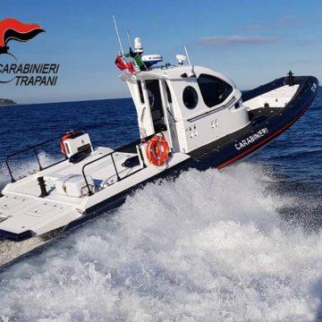 Favignana:non riesce più a raggiungere la barca per la forte corrente. Salvata dai Carabinieri