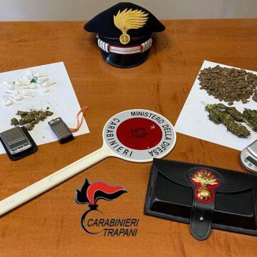 Favignana: attività antidroga dei Carabinieri, 2 arresti