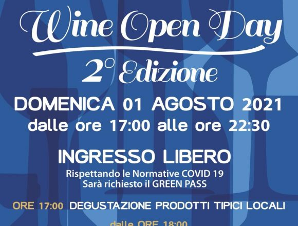Wine Open Day alle Cantine Europa