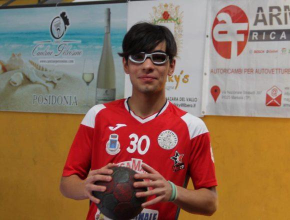 Pallamano, il petrosileno Giorgio Adamo convocato in Nazionale Under 17