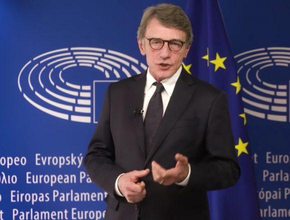 """Sassoli:"""" L' Europa è la vera chiave del nostro futuro"""""""