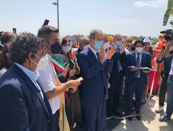 Infrastrutture, la Regione ha inaugurato l'autostrada Rosolini-Ispica