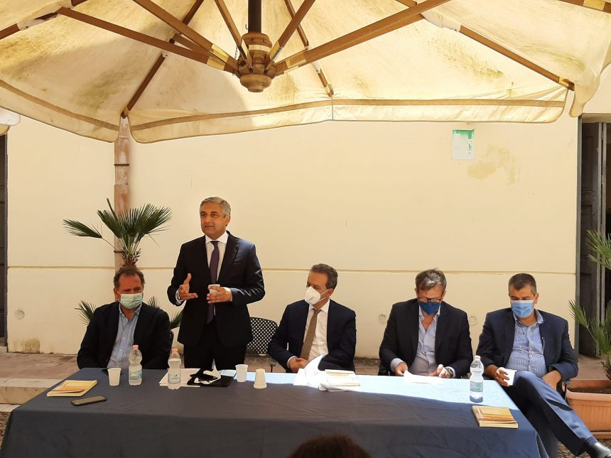 Utilizzo acque reflue in agricoltura.A Marsala firmato l'acccordo di collaborazione tra Comune, Regione e Consorzio bonifica