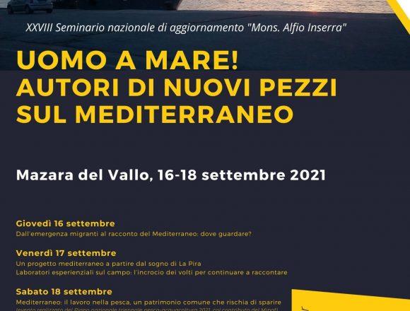 """""""Uomo a mare… autori di nuovi pezzi sul Mediterraneo"""". A Mazara del Vallo il seminario Fisc con un week-end di formazione"""