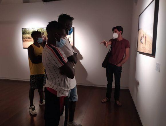 Badia Grande, i beneficiari visitano la mostra di Francesco Bellina a Palermo