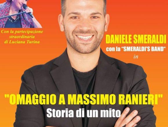 """Stasera a Marsala, """"Omaggio a Massimo Ranieri, Storia di un mito""""ore 21,30 Complesso Monumentale San Pietro"""