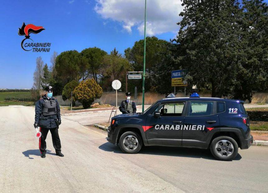 Partanna: guida senza patente una moto che ha anche la targa alterata. Denunciato dai Carabinieri