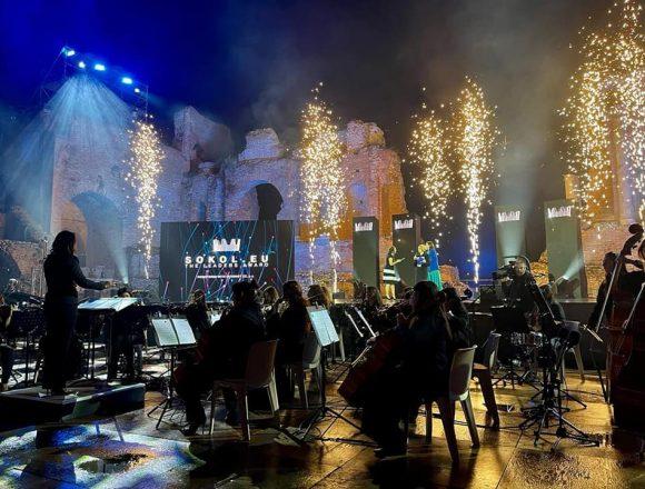 La Women Orchestra al Teatro Antico di Taormina per gli Eu Web Awards 2021