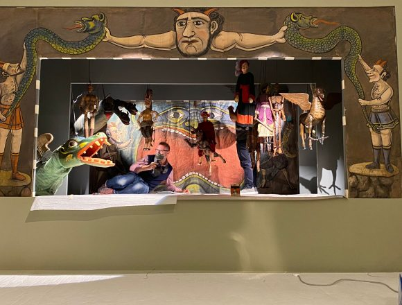 """Diavoli, maghi e sortilegi: le marionette del Museo Pasqualino approdano alle Scuderie del Quirinale, con la mostra """"Inferno. Una topografia del Male"""""""