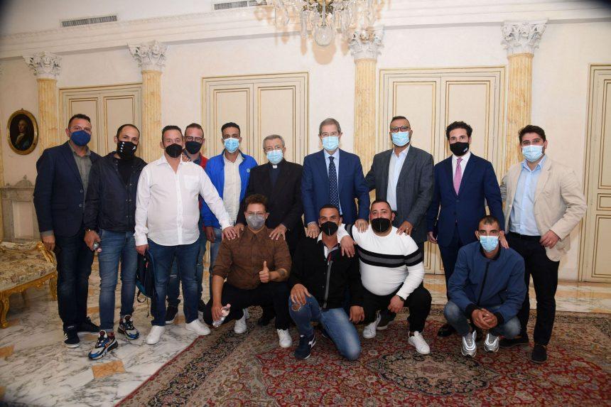 Palazzo Orléans, Musumeci incontra operatori ed ex tossicodipendenti della Casa dei giovani