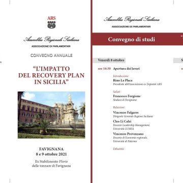 Convegno annuale dell'Associazione ex Parlamentari ARS. 8 e 9 ottobre 2021 all'ex Stabilimento Florio di Favignana