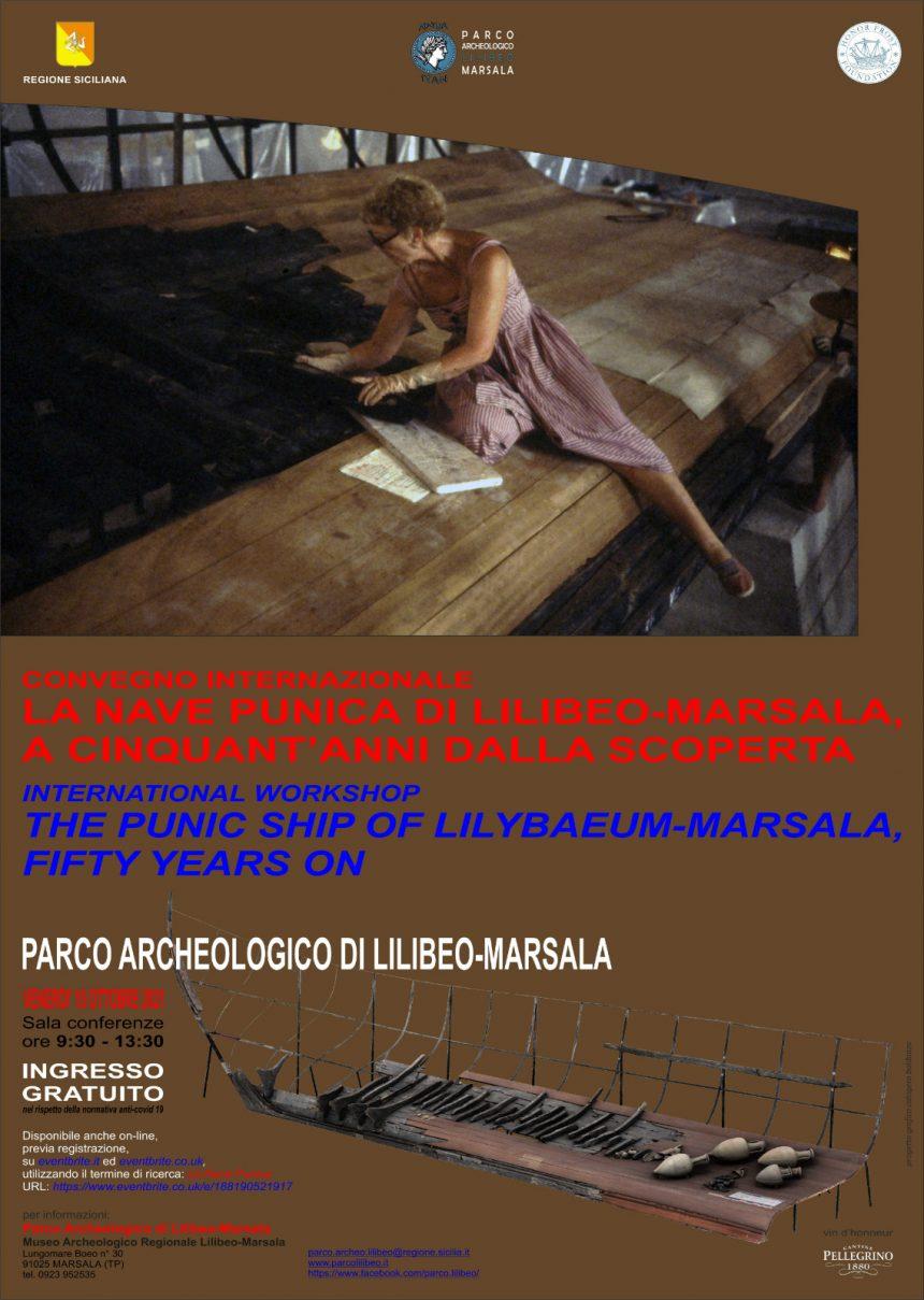 A Marsala si celebrano i 50 anni dal ritrovamento della Nave Punica